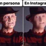 En persona en instagram