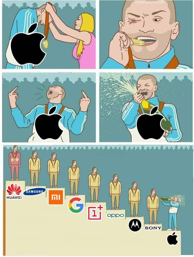 los que tienen IPHONE