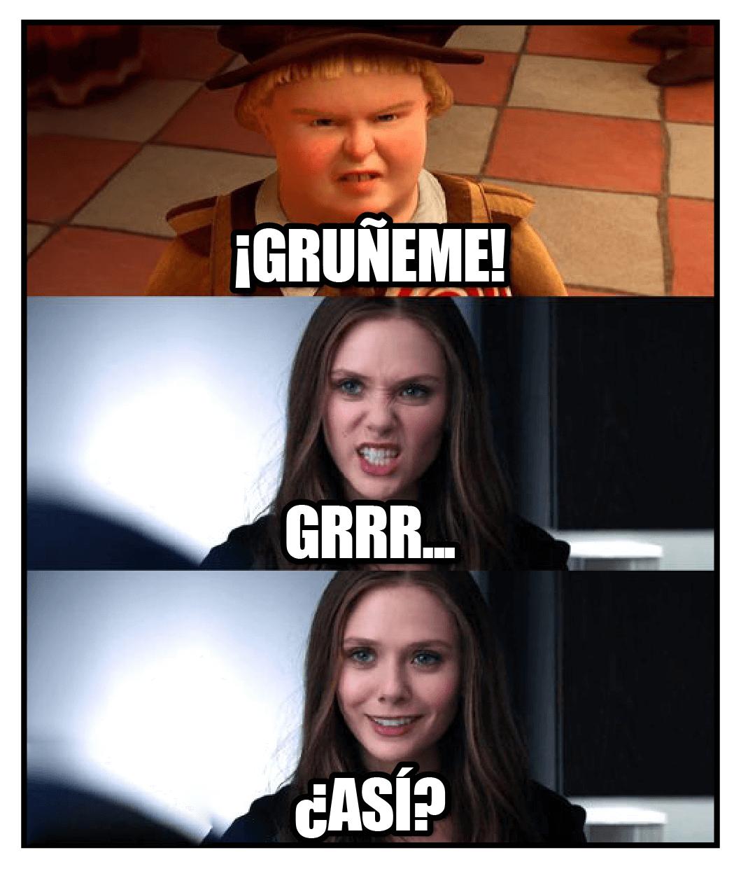 gruñeme meme